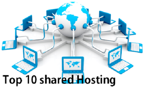 Top 10 shared Hosting Providers