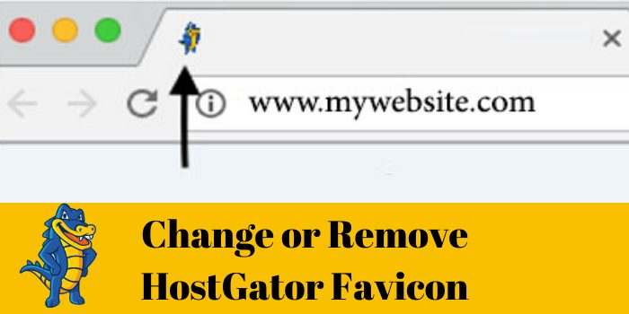 change or remove hostgator favicon